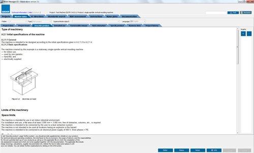 4. Produktbild WEKA Manager CE - für CE-Prozess nach Maschinenrichtlinie 2006/42/EG