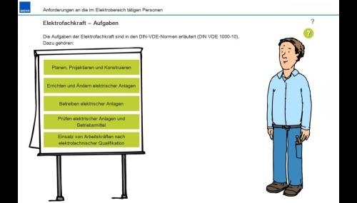 Elektrotechnische Qualifizierung