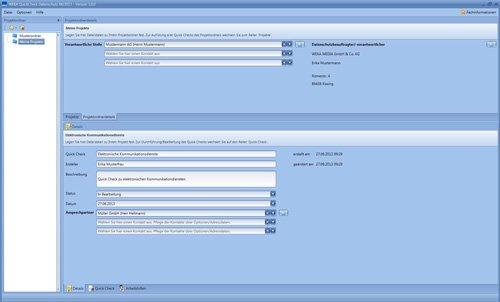 3. Produktbild Praxissoftware Quick Check Datenschutz