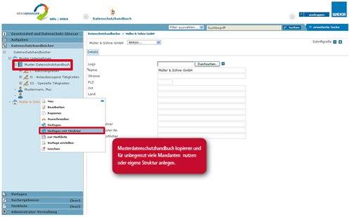 3. Produktbild Das elektronische Datenschutzhandbuch