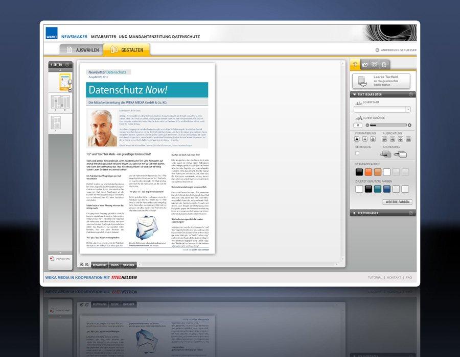 3. Produktbild WEKA NewsMAKER Datenschutz