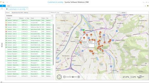 6. Produktbild Sunrise Software Relations CRM