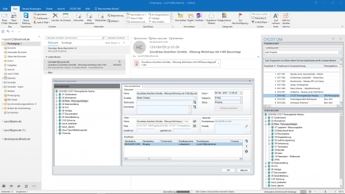 Dokumentenmanagement: Outlook Add-In