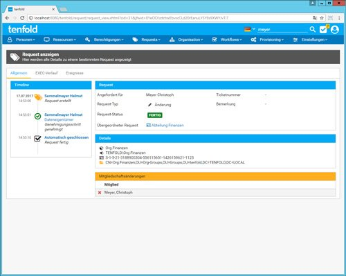 tenfold – Die einfache Lösung für Benutzer- und Berechtigungsmanagement