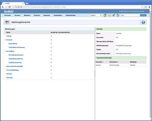 8. Produktbild tenfold - Integrierte Lösung für Berechtigungsverwaltung