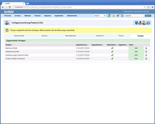 12. Produktbild tenfold - Integrierte Lösung für Berechtigungsverwaltung