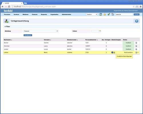 15. Produktbild tenfold - Integrierte Lösung für Berechtigungsverwaltung