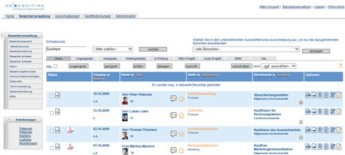 2. Produktbild HReCONNECT - Effizientes E-Recruiting, SaaS Cloud Lösung
