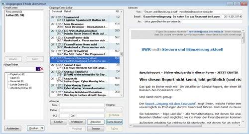 5. Produktbild TelMarkt CRM - Kommunikation schafft Maßstäbe !