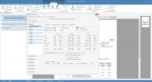 TopKontor Handwerk V6 - Leistungskalkulation