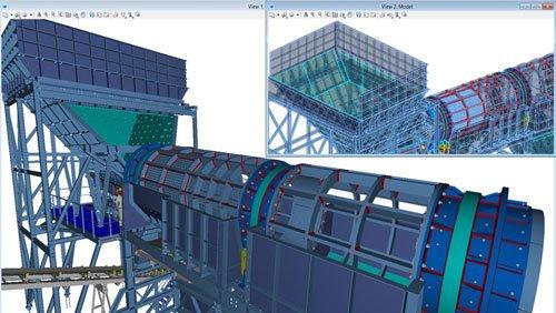 2. Produktbild ProStructures - Software für Stahl- und Betonbauplanung