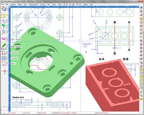 1. Produktbild CAD6 Studio - CAD-Software