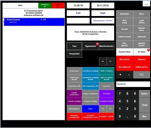 Maxstore Ticketsoftware mit TSE