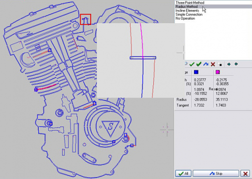 Reparatur von CAD-Daten