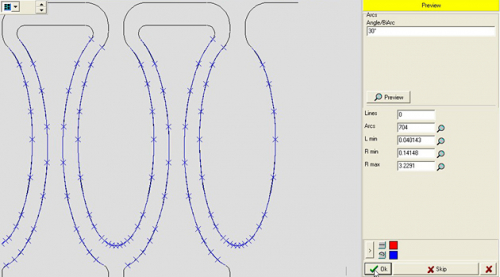 Konvertierung von CAD-Splines