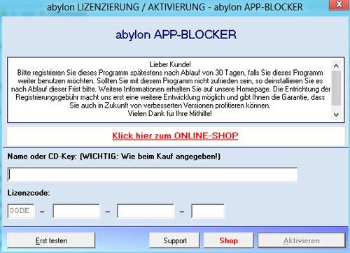 2. Produktbild abylon APP-BLOCKER