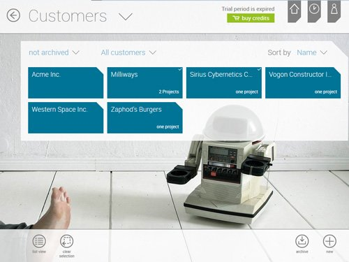 3. Produktbild askDANTE - Zeiterfassungssoftware