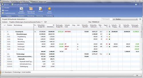 5. Produktbild cc project für Fertiger auf Basis von Microsoft Dynamics