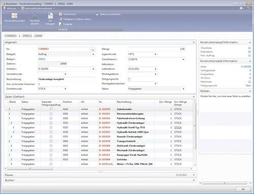 3. Produktbild cc|auftragsfertigung auf Basis von Microsoft Dynamics