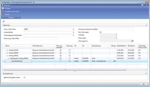 5. Produktbild cc|prozessfertigung auf Basis von Microsoft Dynamics