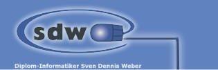 Firmenlogo Dipl.-Informatiker Sven Dennis Weber SDW-Electronics Linden