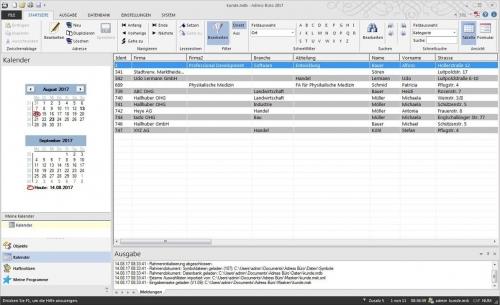 3. Produktbild Adress Büro 2020 - Die Adressverwaltung