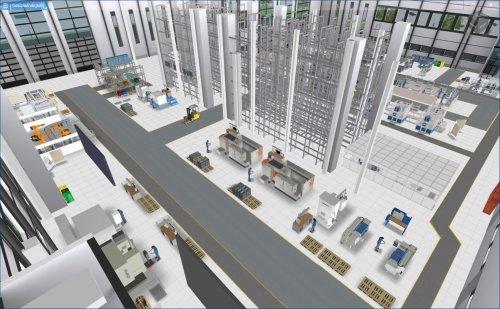 Interaktive 3D-Ansicht der Fabrik
