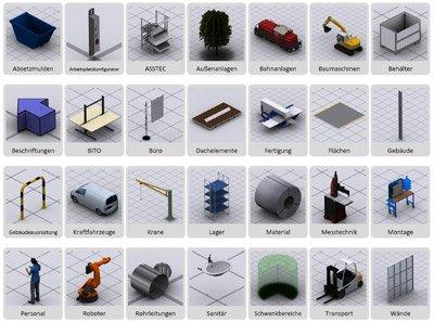 Produktbild visTABLE®touch - Fabrikplanungssoftware