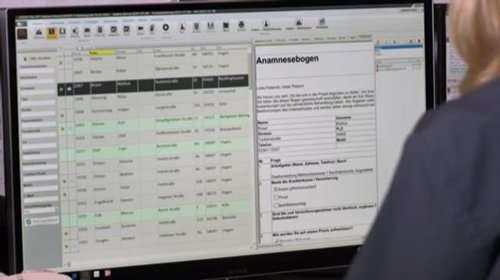 Anamnesebogen digitalisiert sofort verfügbar