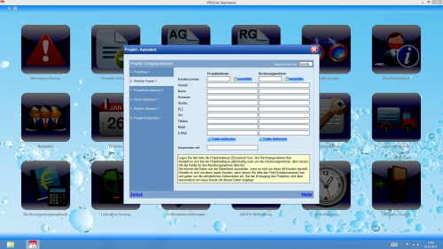 Der ProLine Office V.6 Projektassistent