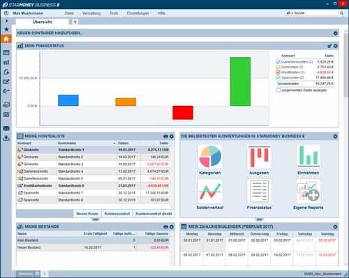 7. Produktbild StarMoney Business - Finanzsoftware