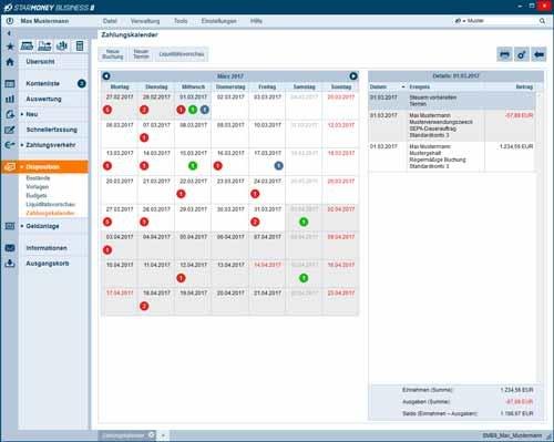 9. Produktbild StarMoney Business - Finanzsoftware