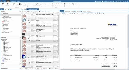 1. Produktbild docuvita Dokumentenmanagementsystem