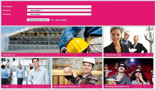 3. Produktbild coveto Online Bewerbermanagement