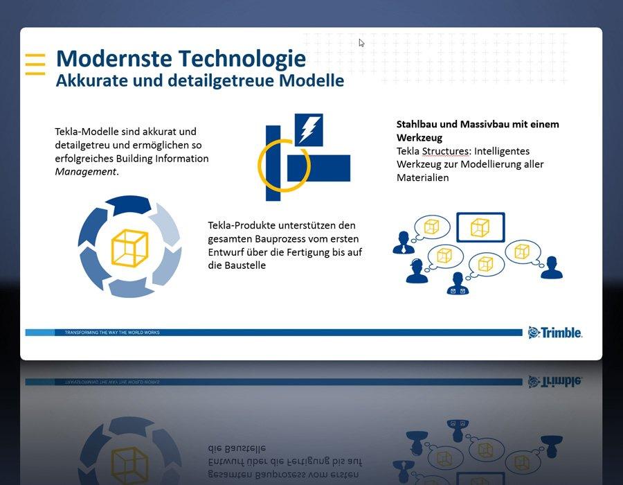 Software: Tekla Structures für Stahlbau/Metallbau/Anlagenbau