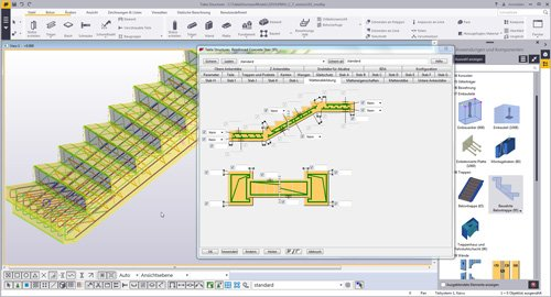 Software Tekla Structures Fur Ortbeton Betonfertigteile Schalung U