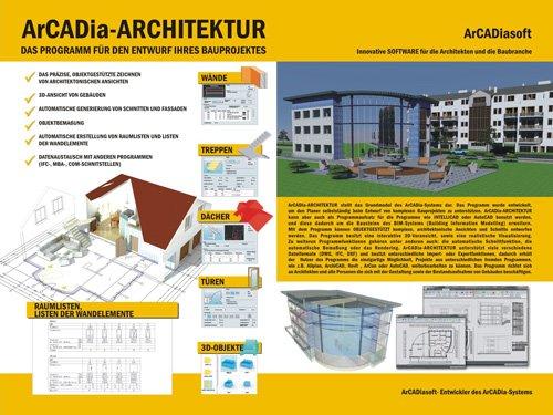 4. Produktbild ArCADia - CAD-Programm, BIM-Technologie