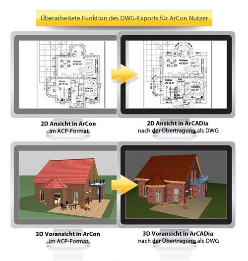 5. Produktbild ArCADia - CAD-Programm, BIM-Technologie
