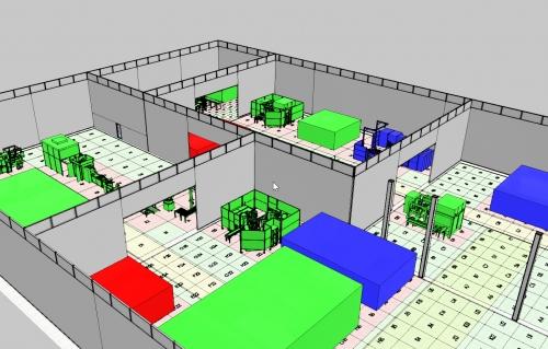 3D-Hallenplanung mit AREAPLAN