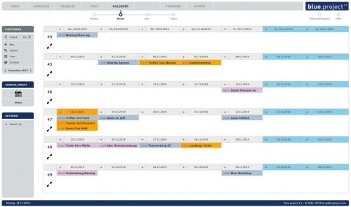 Kalender für Teams