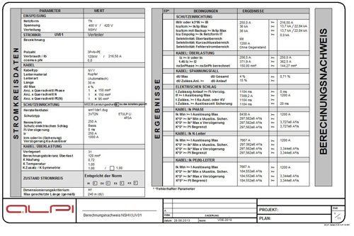1. Produktbild ALPI CANECO BT - Berechnung von Niederspannungsanlagen