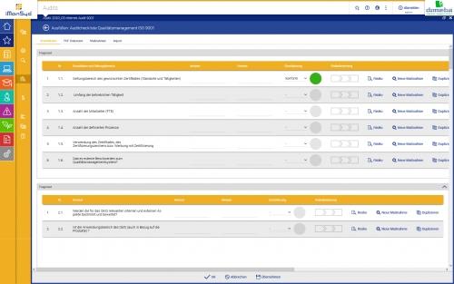 iManSys Software-Welt: Maßnahmen & Pflichten