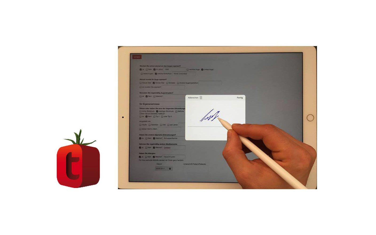 Software: tomedo - Praxissoftware/Arztsoftware/Arztprogramm