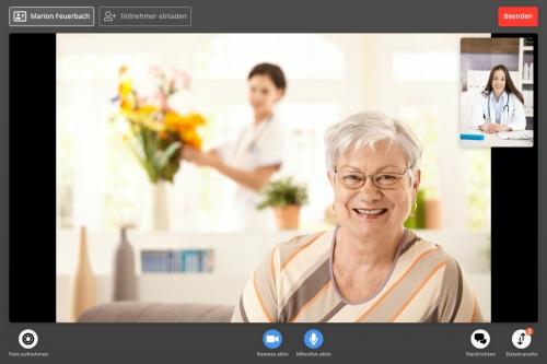 Aktive Videosprechstunde FUTURE