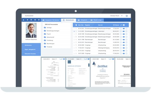 2. Produktbild aconso Dokumentenmanagement (DMS) für Human Resources