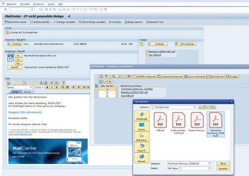 SAP Mail MailCenter