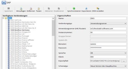 SX Integrator für SAP ERP