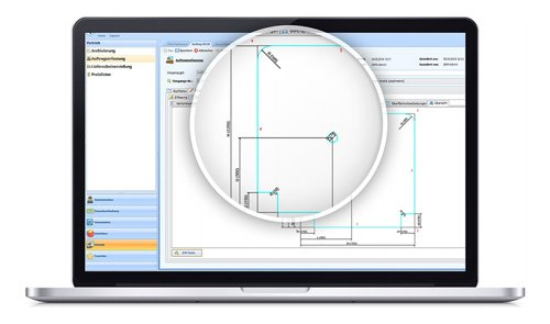 1. Produktbild SOM-GLAS - Software für Glaser und Glashandel