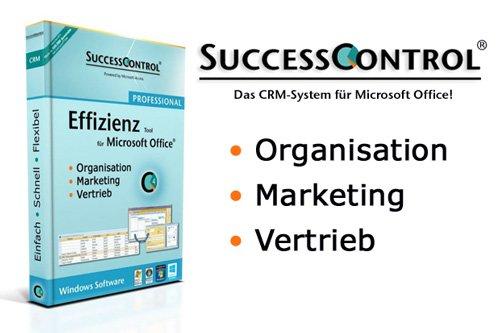 1. Produktbild SuccessControl CRM für Microsoft Office Anwender