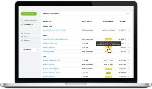 MOCO Cloud-Software für Agenturen und Dienstleister 5